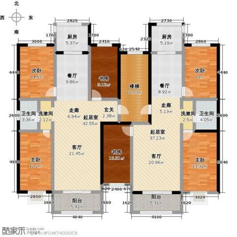 金坤新城花苑6室0厅2卫2厨271.00㎡户型图