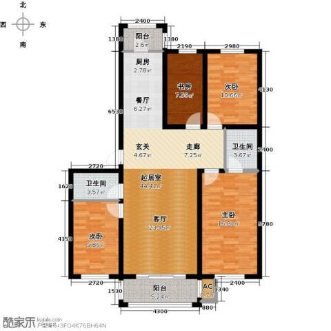 好民居康泰嘉园4室0厅2卫0厨150.00㎡户型图