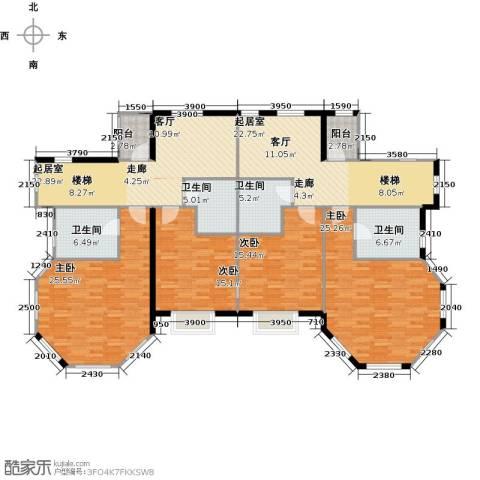 阅湖泊景湾4室0厅4卫0厨213.00㎡户型图