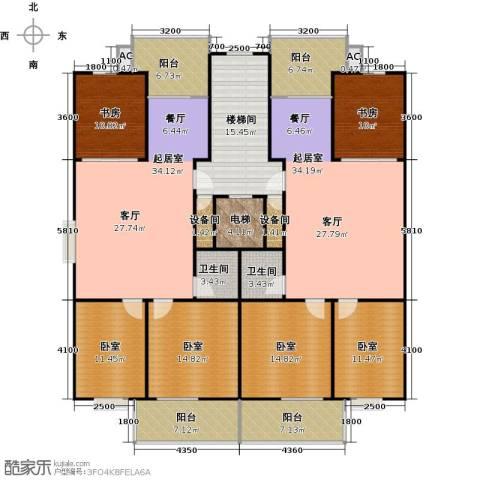 幸福苑2室0厅2卫0厨267.00㎡户型图