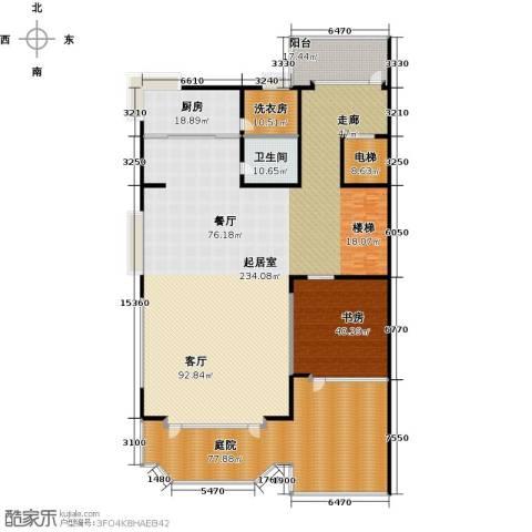 水青庭1室0厅1卫1厨448.00㎡户型图