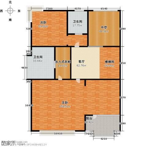 水青庭2室1厅2卫0厨448.00㎡户型图