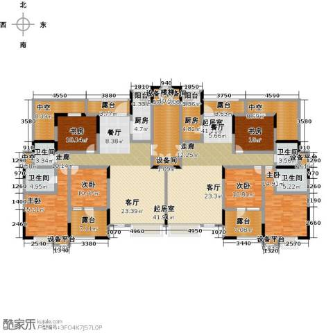 天一绿海6室0厅4卫2厨350.00㎡户型图