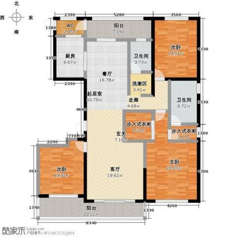 佳木公园1983室0厅2卫1厨182.00㎡户型图