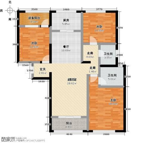 佳木公园1983室0厅2卫1厨147.00㎡户型图