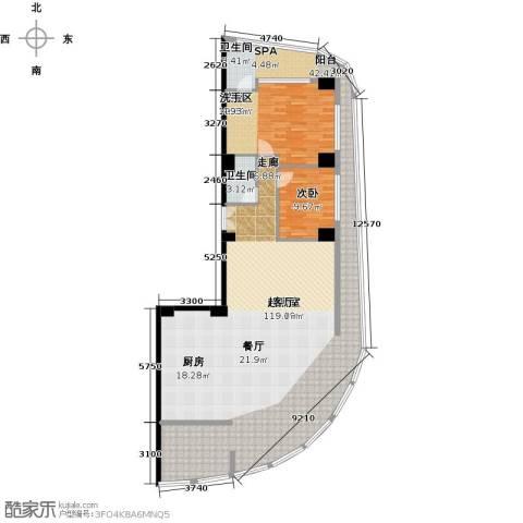 钻石海岸2室0厅1卫0厨146.47㎡户型图