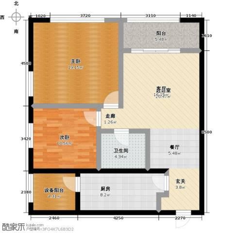 佳木公园1982室0厅1卫1厨104.00㎡户型图