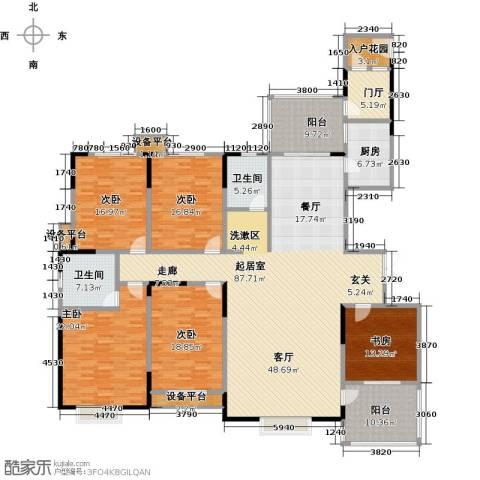 华富世家5室0厅2卫1厨242.00㎡户型图