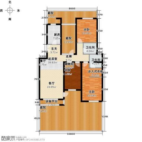 景瑞阳光尚城3室0厅2卫1厨182.75㎡户型图
