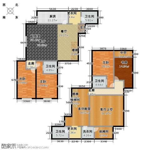 天通・公园里4室0厅4卫1厨247.94㎡户型图