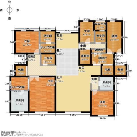 远洋天著3室0厅4卫0厨275.00㎡户型图