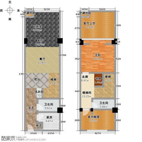 天通・公园里1室0厅2卫1厨109.63㎡户型图