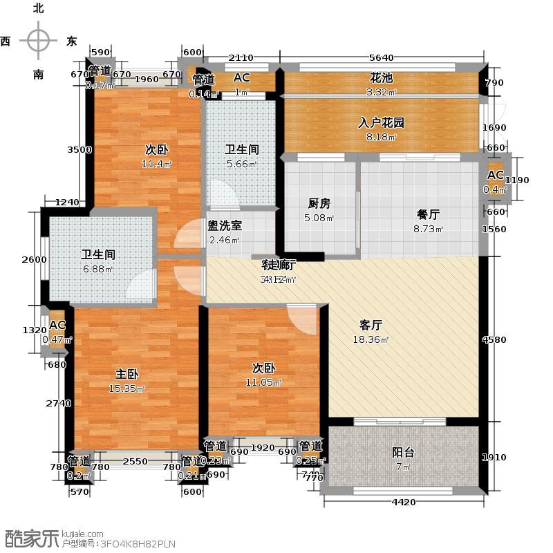 罗源湾滨海新城128.00㎡罗源湾滨海新城128.00㎡3室2厅2卫户型3室2厅2卫