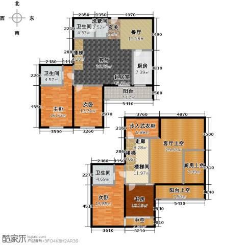 天通・公园里4室0厅3卫1厨196.89㎡户型图