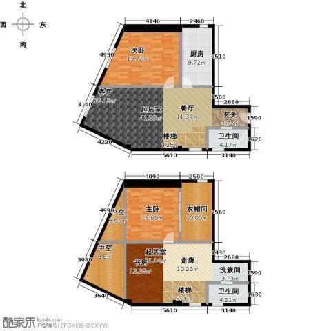 天通・公园里2室0厅2卫1厨148.09㎡户型图
