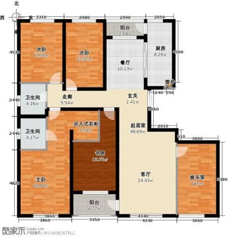 美伦堡4室0厅2卫1厨217.00㎡户型图