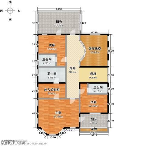 麦卡伦地3室0厅3卫0厨153.93㎡户型图