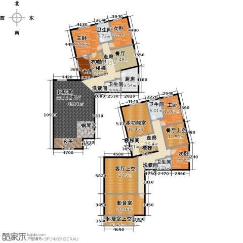 天通・公园里5室0厅4卫1厨302.58㎡户型图