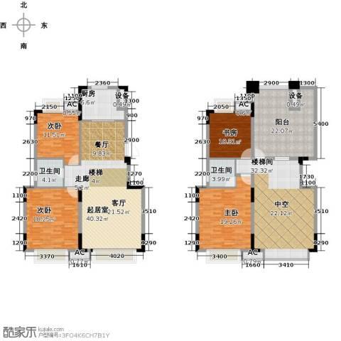 万达西双版纳国际度假区4室0厅2卫1厨242.00㎡户型图