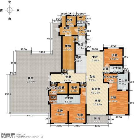 万达大湖公馆4室0厅4卫1厨480.00㎡户型图