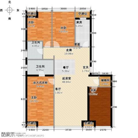 UHN国际村4室0厅2卫1厨182.00㎡户型图
