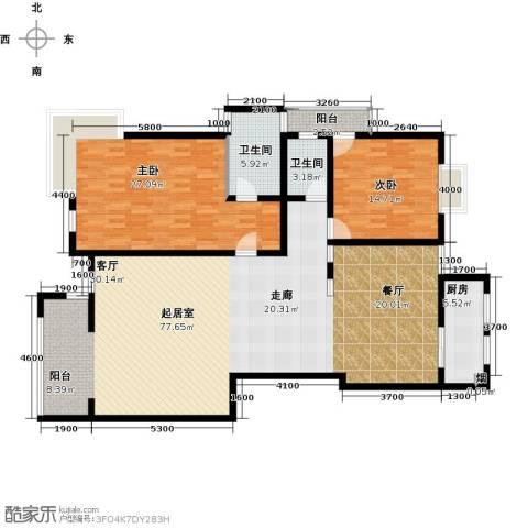 南阳长安玉龙苑2室0厅2卫1厨179.00㎡户型图