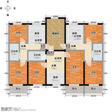 成博牧马庄园6室0厅3卫0厨143.05㎡户型图