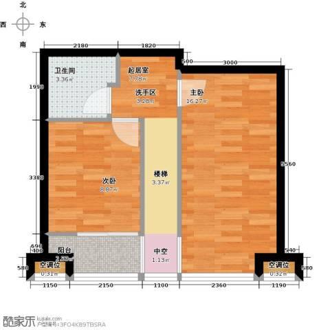 UHN国际村2室0厅1卫0厨118.00㎡户型图