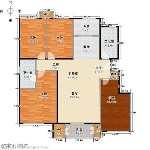 鼎盛新城4室0厅2卫1厨177.00㎡户型图