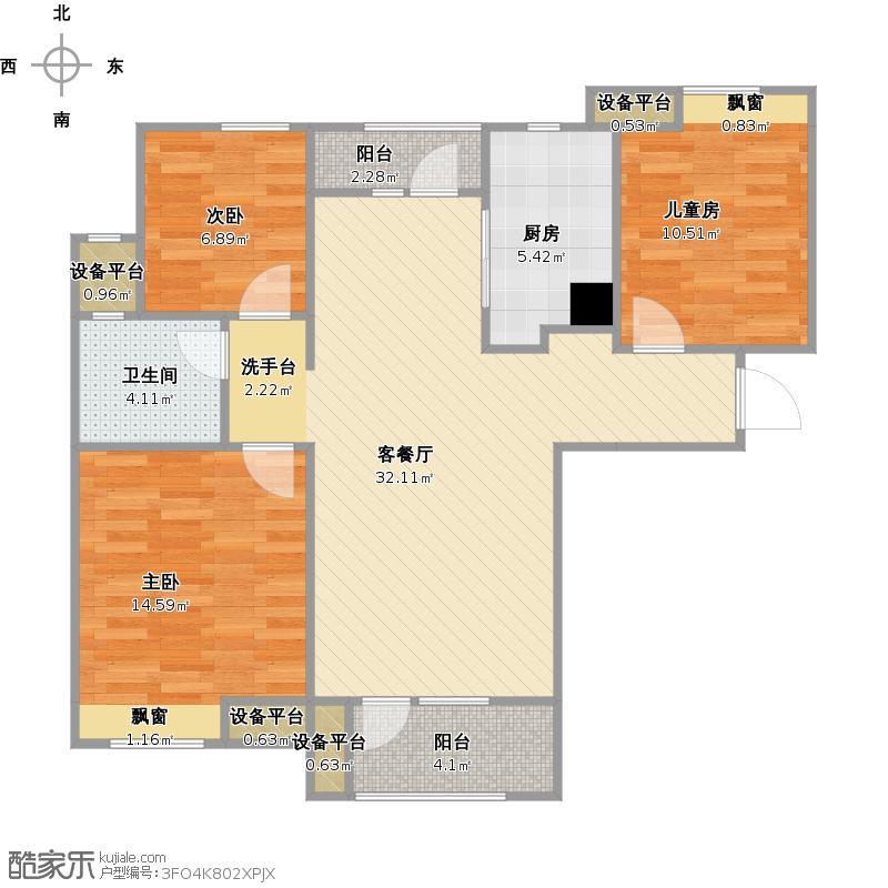 金地格林东郡3B户型++改后户型图.jpg