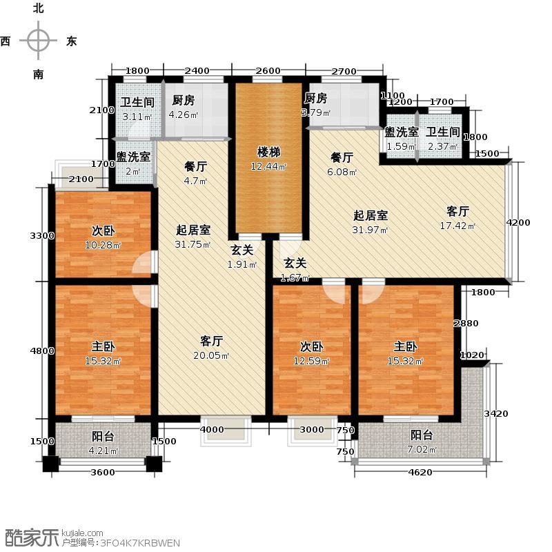 索通小镇建筑面积85.95-89.80平米户型