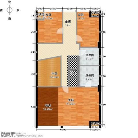 UHN国际村3室0厅2卫0厨322.00㎡户型图