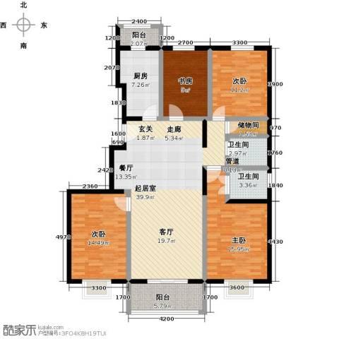 紫金新干线4室0厅2卫1厨151.00㎡户型图