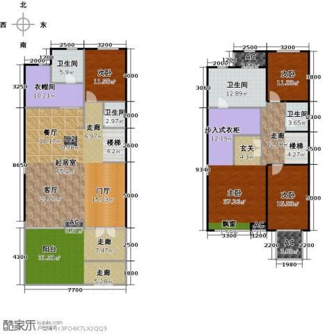 铂悦山4室0厅4卫0厨303.00㎡户型图