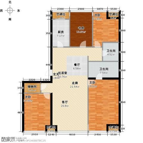 UHN国际村4室0厅2卫1厨191.00㎡户型图