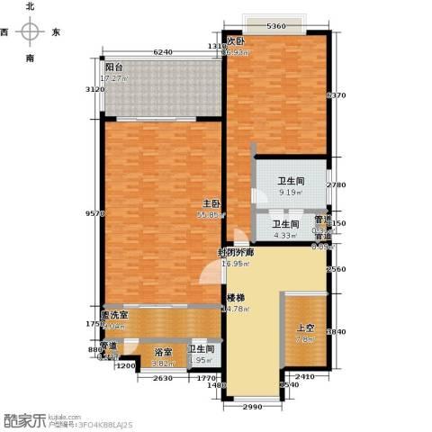 合景・汀澜海岸2室0厅3卫0厨196.00㎡户型图
