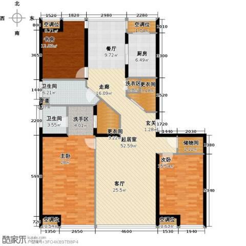 UHN国际村3室0厅2卫1厨193.00㎡户型图