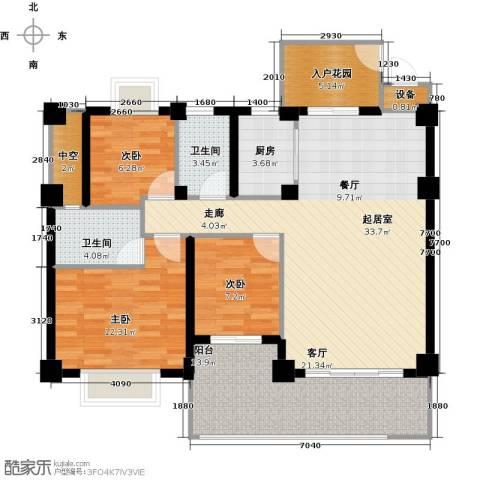 汇景园3室0厅2卫1厨103.00㎡户型图