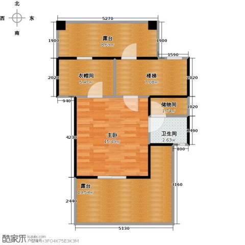 合生天戴河1室0厅1卫0厨75.00㎡户型图