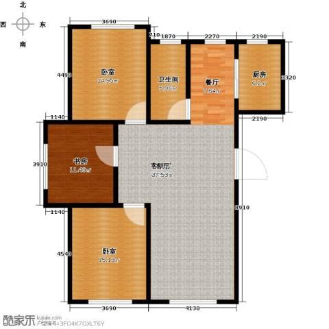 世水蓝庭1室1厅1卫1厨138.00㎡户型图