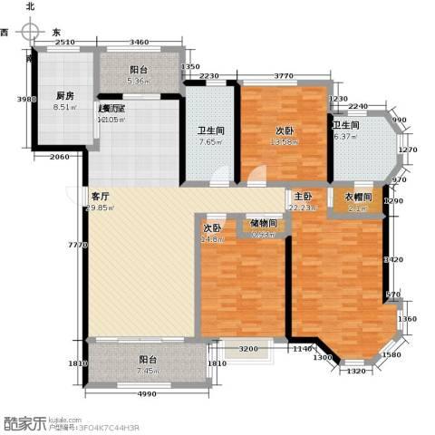 上海公馆3室0厅2卫1厨149.00㎡户型图
