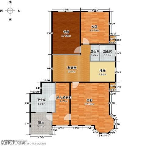 莫奈的花园3室0厅2卫0厨250.00㎡户型图