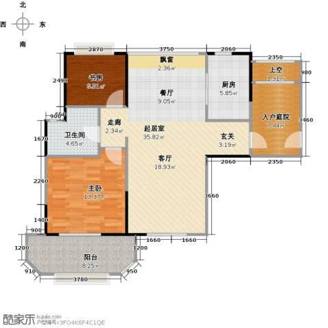 华润外滩九里2室0厅1卫1厨113.00㎡户型图