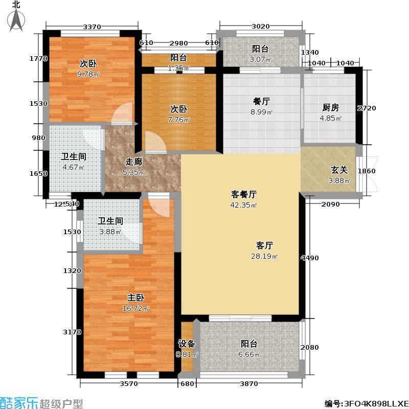 佳元・江畔人家至尊上居户型