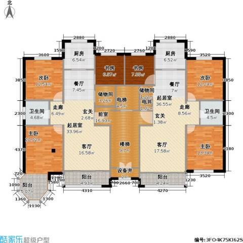 华源贝鸟逸轩6室0厅2卫2厨201.78㎡户型图