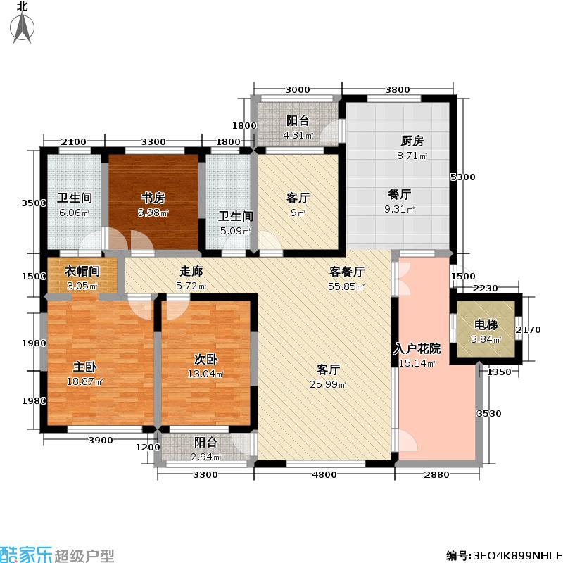 正源・幸福e家福源7、8区户型图C4-3户型