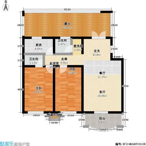 京南嘉园2室0厅2卫1厨118.00㎡户型图