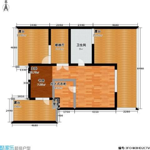 万科青青家园1室0厅1卫0厨175.00㎡户型图