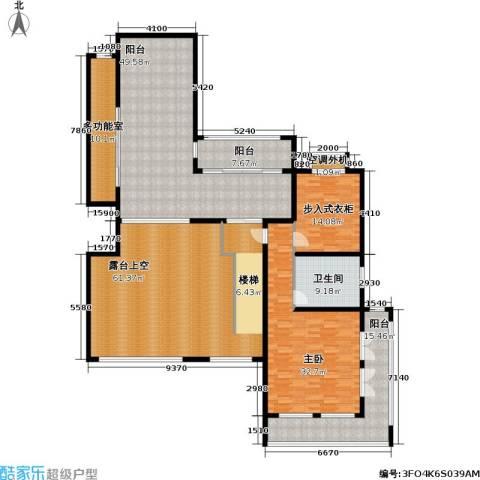 香江帝景1室0厅1卫0厨223.00㎡户型图