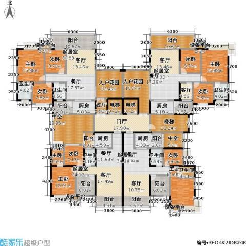 �湖世纪城9室1厅6卫4厨621.00㎡户型图